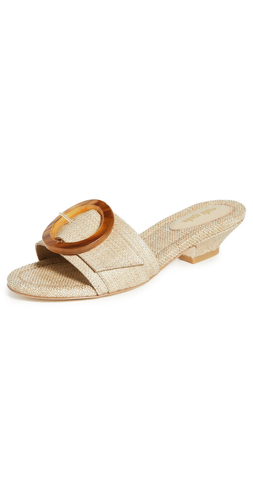 Cult Gaia Nelly Sandals in natural