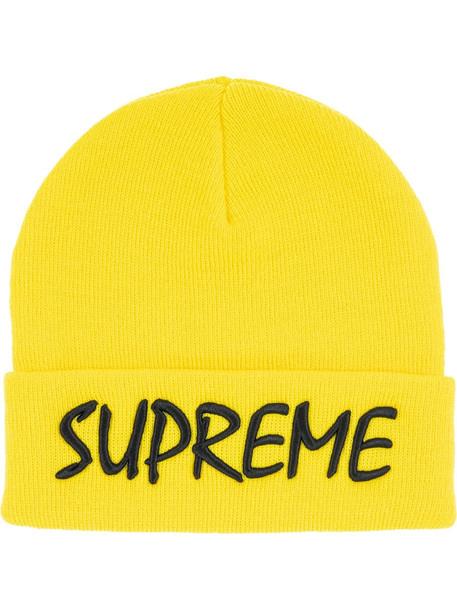 Supreme FTP logo beanie