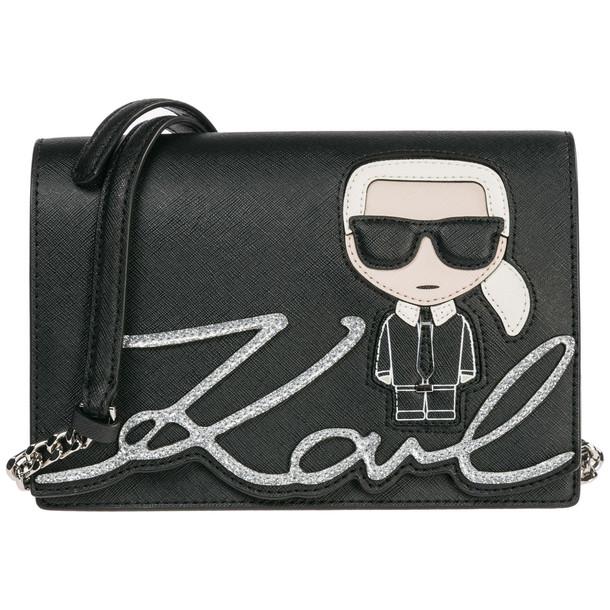 Karl Lagerfeld Shoulder Bag K/ikonik in nero