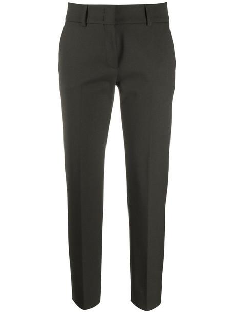 Piazza Sempione slim-fit trousers in brown
