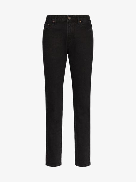Jeanerica straight leg jeans in black