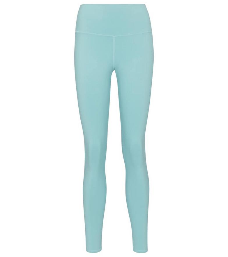 Alo Yoga Airbrush high-rise leggings in blue