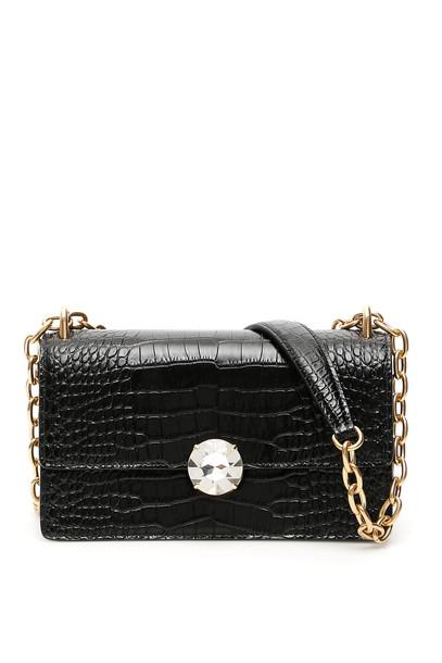 Miu Miu Miu Solitaire Bag in black