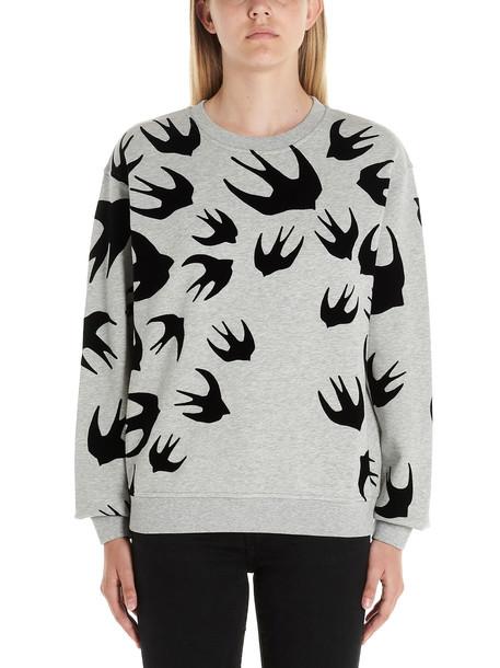 Mcq Alexander Mcqueen swallow Sweatshirt in grey