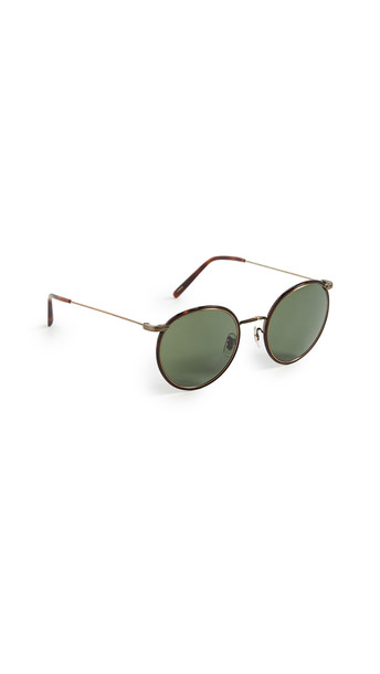 Oliver Peoples Eyewear Casson Sunglasses in gold