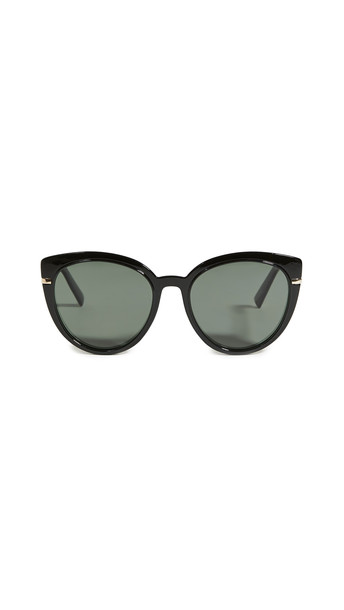 Le Specs Promiscuous Sunglasses in black / khaki