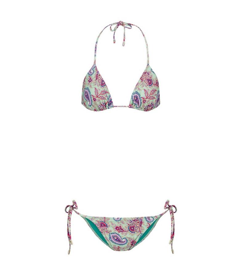 ETRO Paisley bikini in blue