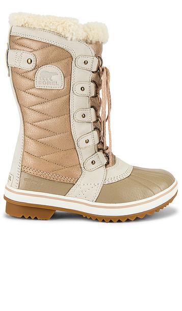Sorel Tofino II Lux Boot in Tan