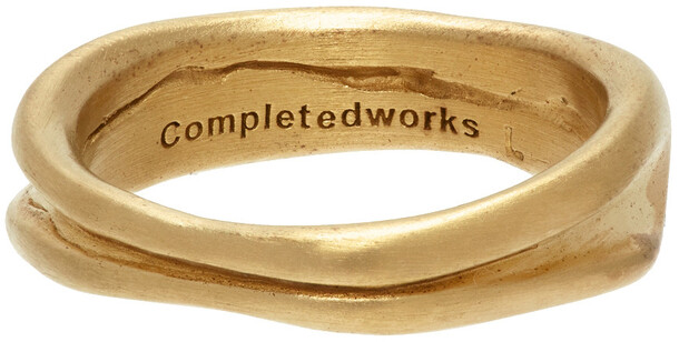 Completedworks Gold Deflated Do Not Inflate Ring