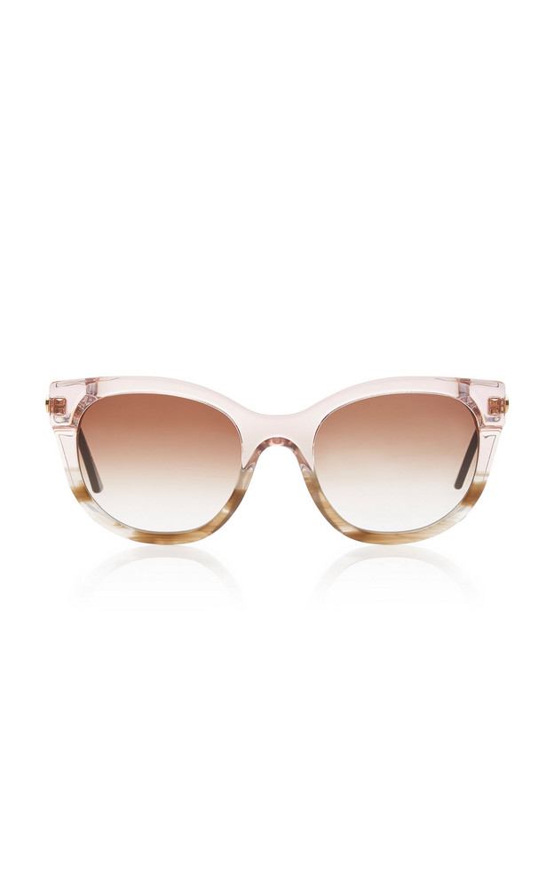 Thierry Lasry Lively Cat-Eye Acetate Sunglasses in pink