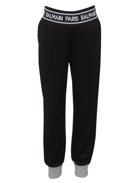 Trousers Balmain Paris Kids in black