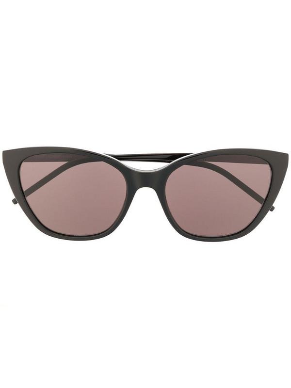 Saint Laurent Eyewear SL M69 cat-eye sunglasses in black