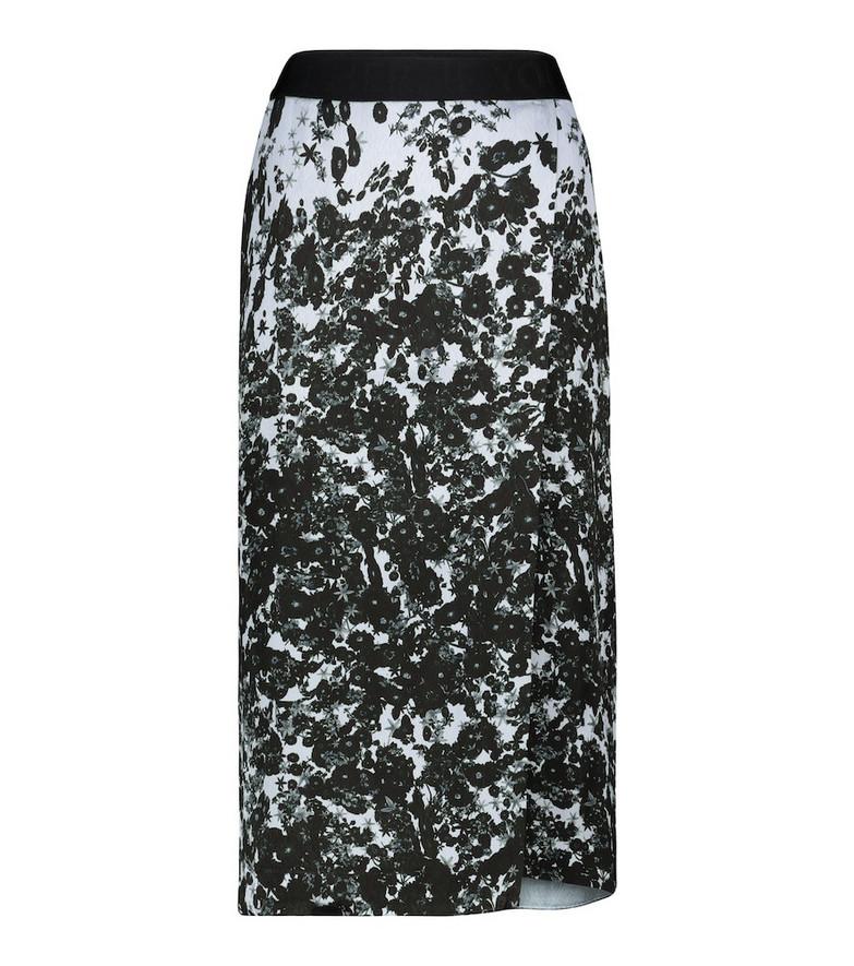 Dorothee Schumacher Floral Gradients midi skirt
