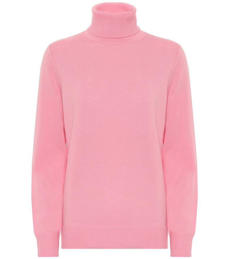 A.P.C. Sandra merino wool sweater in pink