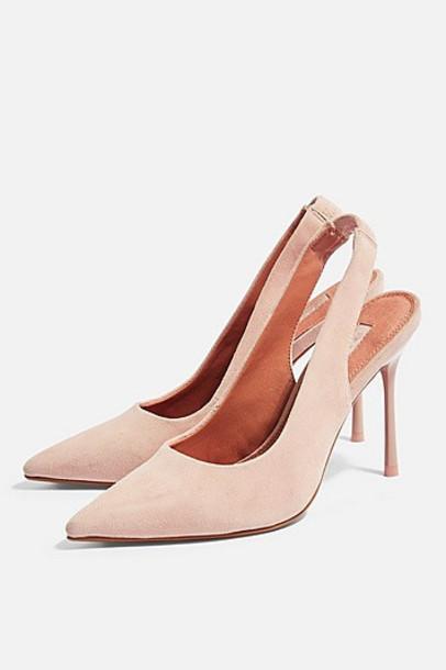 TopShop GARDEN High Shoes - Nude