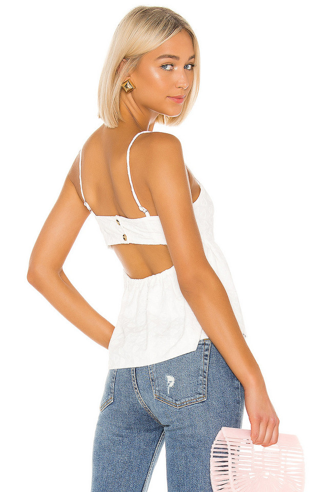 LPA Angelica Top in white