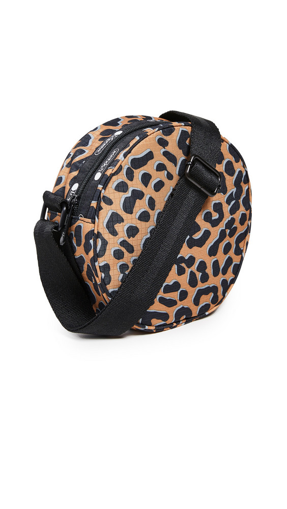 LeSportsac Carlin Canteen Crossbody Bag in leopard