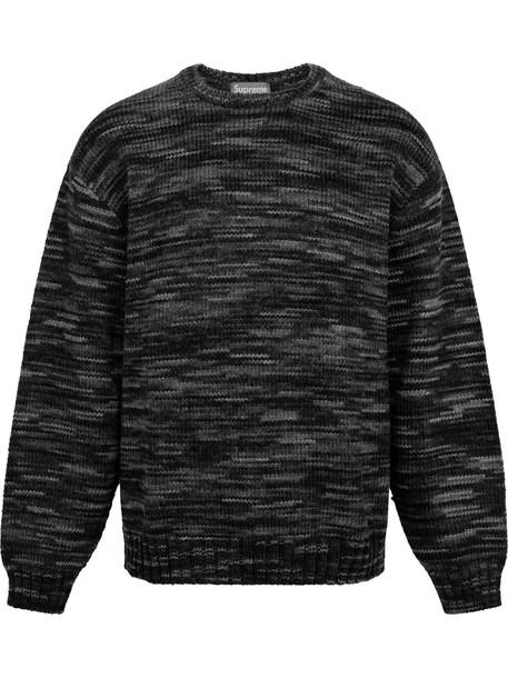 Supreme crew-neck Static sweatshirt - Black