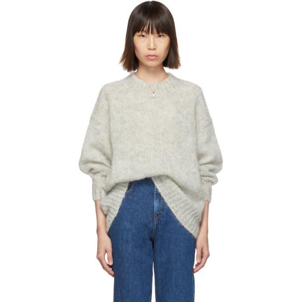 Isabel Marant Grey Idol Sweater