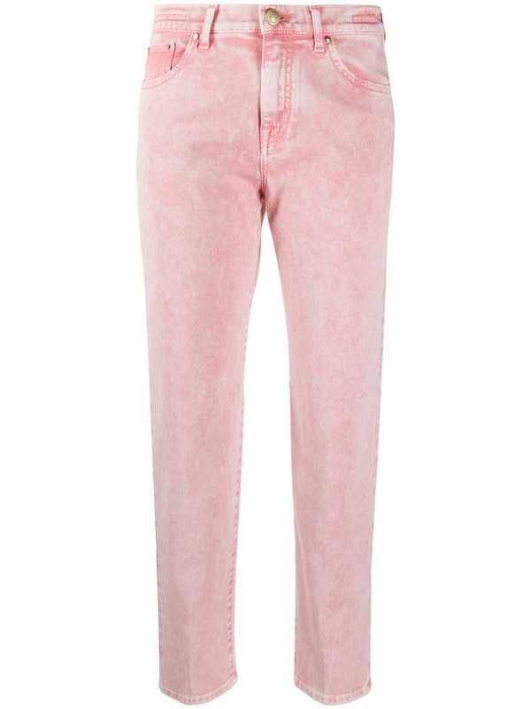 Jacob Cohen Kimmy straight-leg jeans in pink