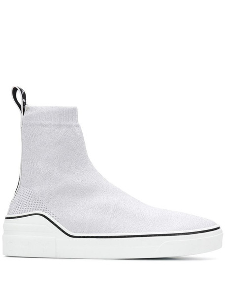 Givenchy sock trainers in white