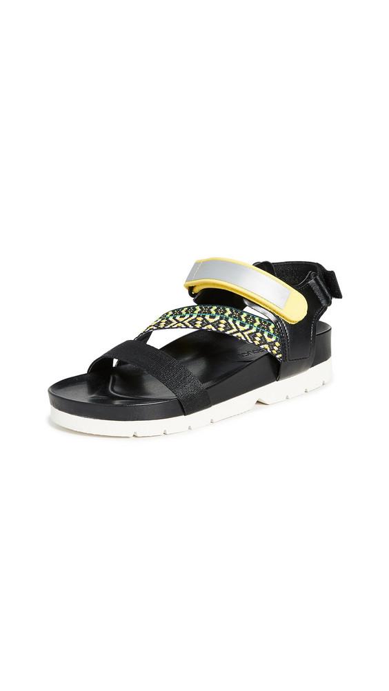 Villa Rouge Elena Sporty Sandals in black