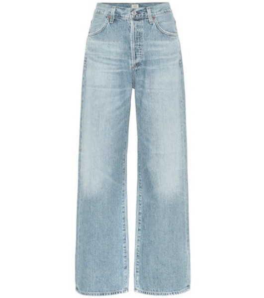 Citizens of Humanity Flavie Trouser high-rise jeans in blue