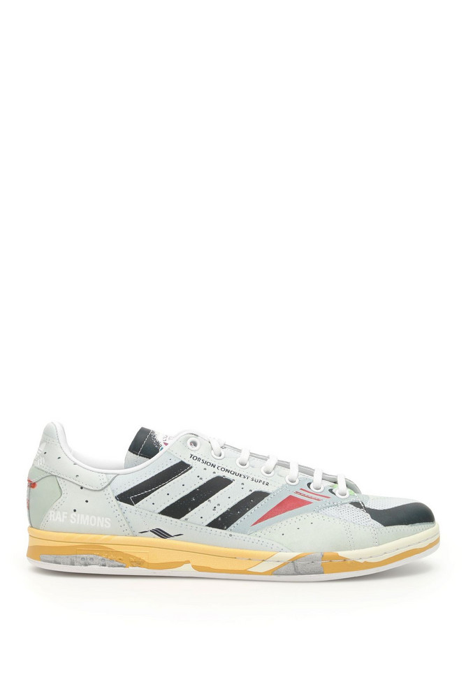 Adidas By Raf Simons Unisex Rs Torsion Stan Sneakers in yellow