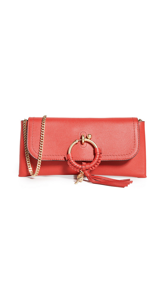 See by Chloe Joan Evening Bag in red