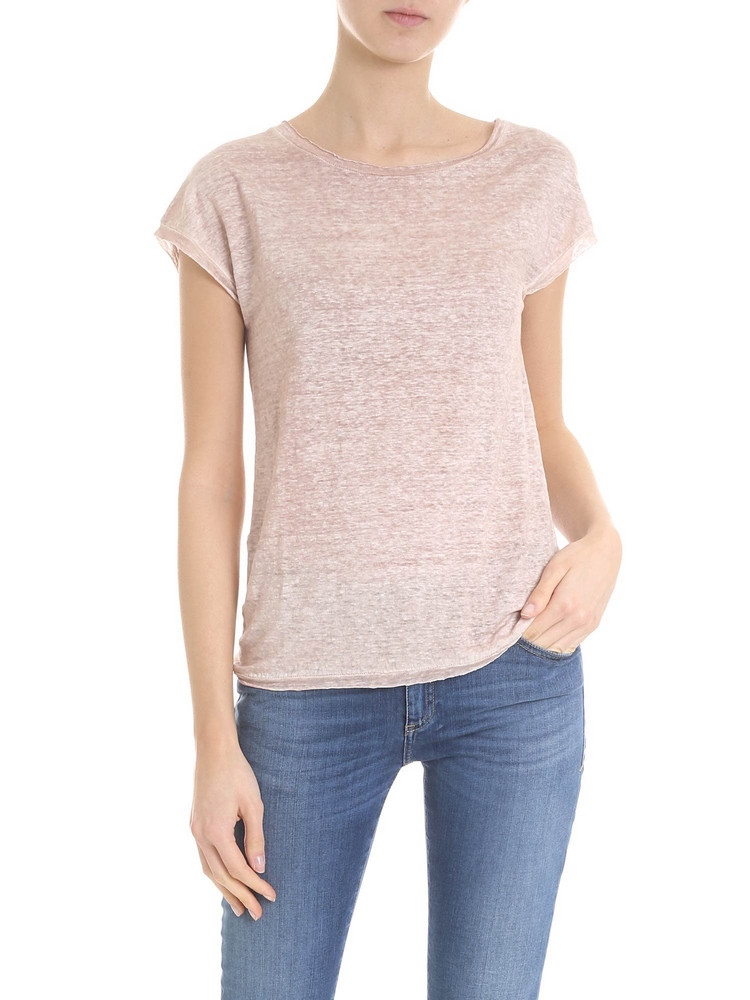 Avant Toi - T-shirt in pink