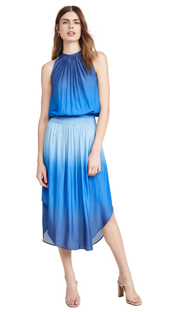 Ramy Brook Ombre Audrey Dress in blue