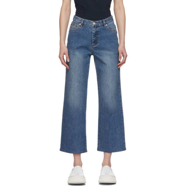 A.P.C. A.P.C. Blue Sailor Jeans