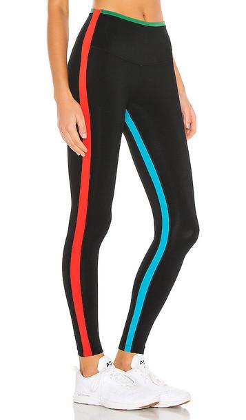 Splits59 High Waist Techflex 7/8 Legging in Black