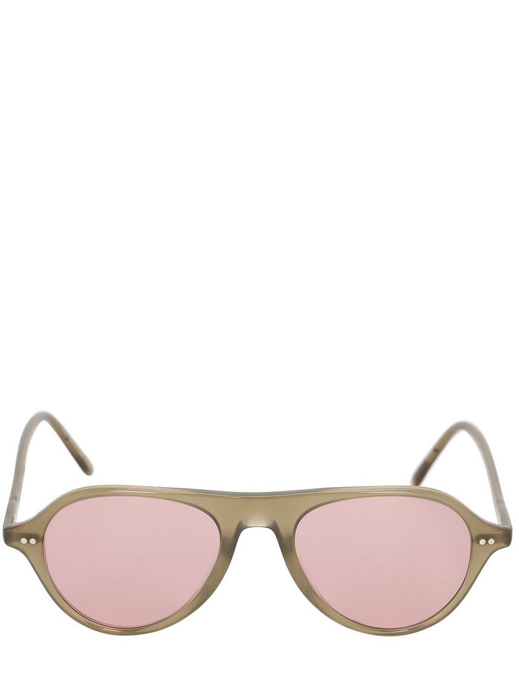 OLIVER PEOPLES Emet Round Acetate Sunglasses in pink