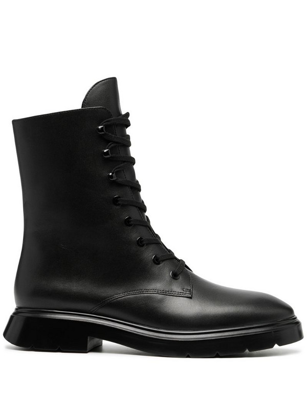 Stuart Weitzman Mckenzee lace-up boots in black
