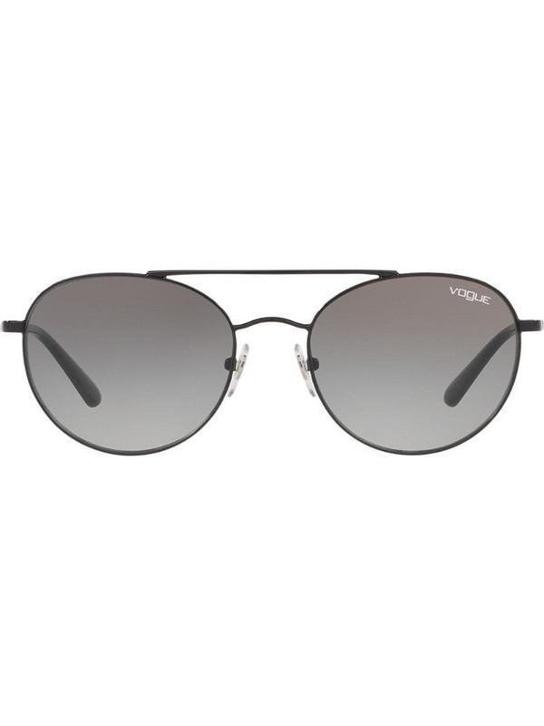 Vogue Eyewear aviator sunglasses in black