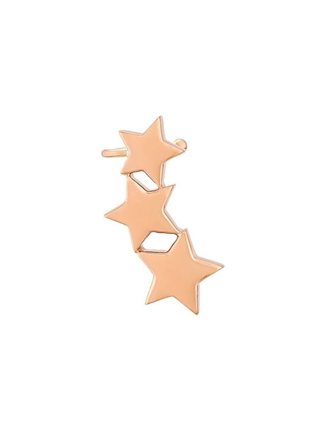Alinka STASIA Triple Star ear cuff in metallic