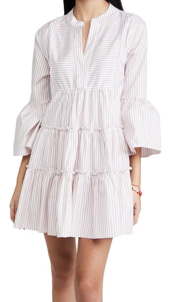 Caroline Constas Lyssa Dress in blush