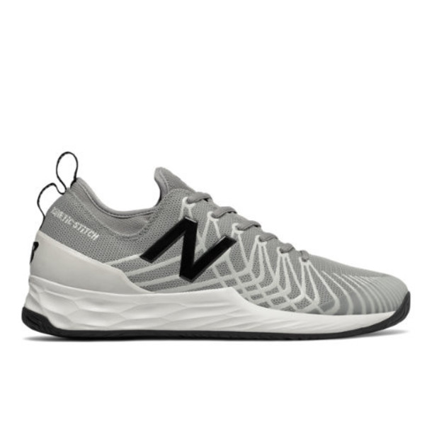 New Balance Fresh Foam Lav Men's Tennis Shoes - Grey/Black (MCHLAVMB)