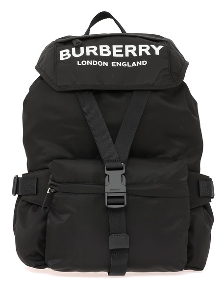 Burberry Wifflin Large Backpack in black