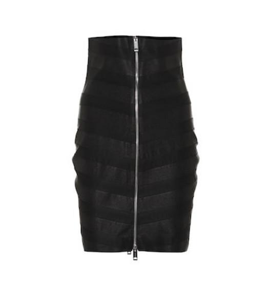 Burberry Paneled skirt in black
