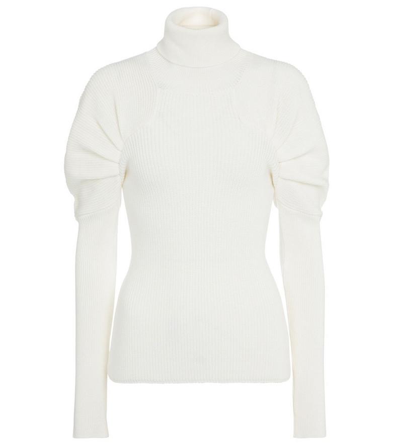 Safiyaa Karine wool sweater in white