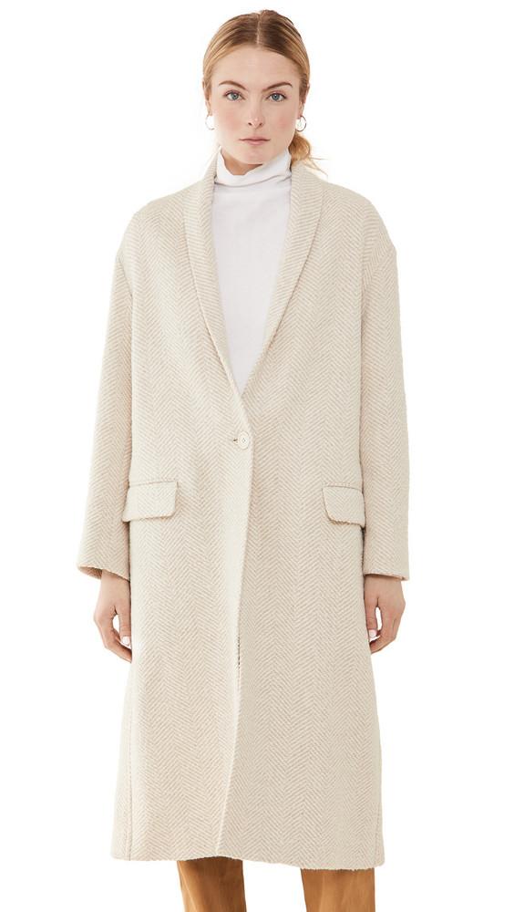 Isabel Marant Etoile Henol Coat in ecru