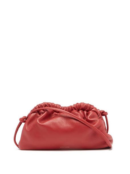 Mansur Gavriel - Cloud Mini Leather Clutch - Womens - Red
