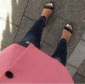 coat,pink,blazer,cute,fashion toast,fashion vibe,fashion,omg girlz,wow,amazing,jeans,sandals,shoes,nails,love