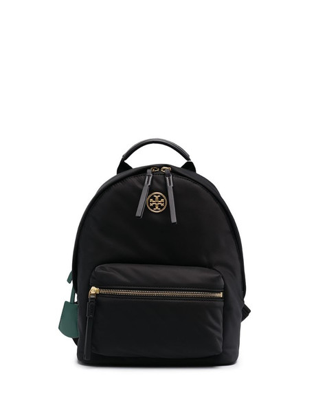 Tory Burch small Piper nylon backpack in black