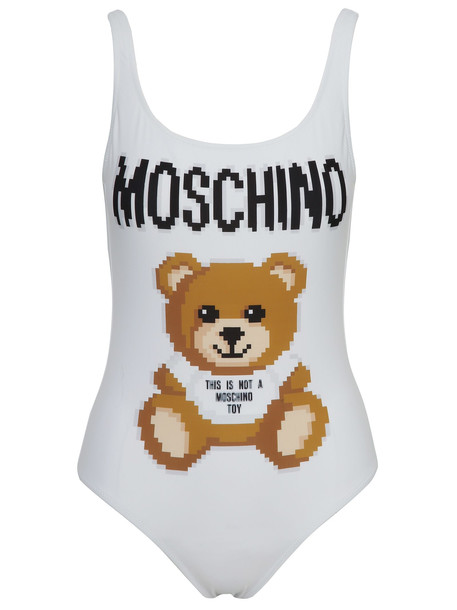 Moschino Swimsuit in white