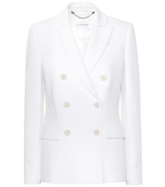 Altuzarra Indiana double-breasted blazer in white