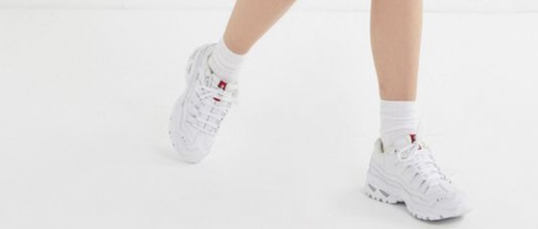 shoes sneakers white white sneakers chunky sneakers
