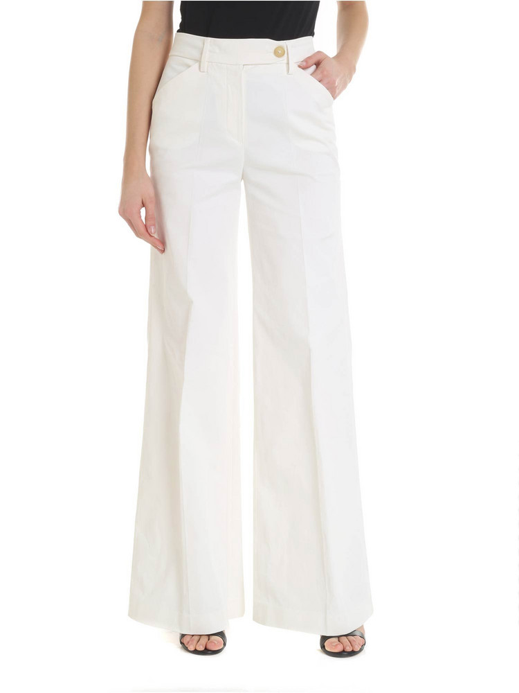 True Royal - Glenda Trousers in white